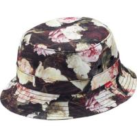 Buy cheap Anti - UV Poly Cotton Round Bucket Hat , Floral Animals Patterns Bucket Fisherman Hat product
