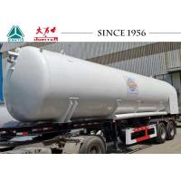 Buy cheap Vacuum Insulation 20000L LCO2 Tanker Trailer / Storage Tanker Spring Suspension from wholesalers