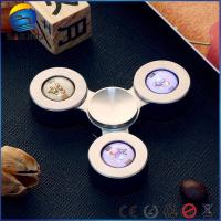 China Led Light Tri Fidget Sniper , Stress Relief Hand Toys 13000r / Min Max Speed wholesale