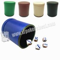 Buy cheap Normal Size Poker Games Magical Plastic Dice Cup With Remote Control product