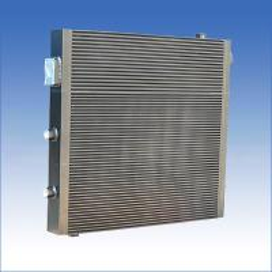 Buy cheap Паяемая вакуумом плита теплообменного аппарата компрессора воздуха - радиатор масла ребра алюминиевый product