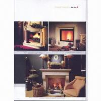 China Electric fireplace, flame and heating adjustable with remote control on sale