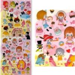 China Promotional halloween decorating epoxy sticker on sale