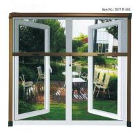 China Easy Operation Retractable Roller Fly Screen Window Convenient Insect Protection on sale