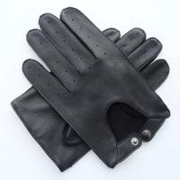 Buy cheap Deerskin Driving Mens Soft Leather Gloves Machine Sewing For Female / Male product