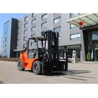 Buy cheap Dual Fuel Hydraulic Gasoline Forklift Truck 3 Stage Mast 200mm Ground Clearance product