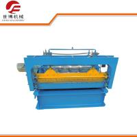 Buy cheap Wall Plate Steel Coil Slitting Machine , Roof Panel Roll Forming Machine from wholesalers