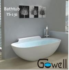 China Indoor Bathtub Gowell Bathtub on sale
