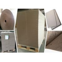 Buy cheap SGS Certified Gray Paperboard Straw Board Paper Uncoated Recycled Folding Resistance product