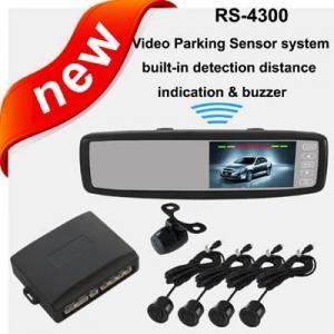 Buy cheap Système visuel universel de capteur de stationnement, moniteur de Rearview de 4,3 pouces product