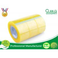 Buy cheap Pressure Sensitive BOPP Packing Tape Strong Adhesive Single Sided Clear Shipping Tape product