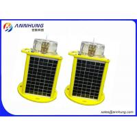 Buy cheap 12V 16Ah IP68 High Brightness LED Solar Powered Airport Light for Emergency Operations product
