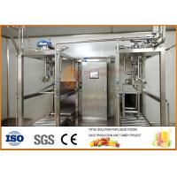 SS304 Juice And Jam Double Heads Aseptic Filling Line