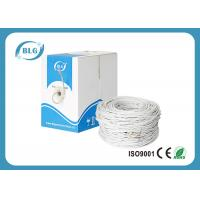 Buy cheap 0.5mm Conductor Cat6 Lan Cable , 4 Pairs UTP Ethernet Cable For Indoor product