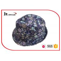 Buy cheap Waterproof Ladies Trilby Hats Multi Color With Common Style Floral Hatband product
