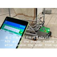 Buy cheap Durable AGV Auto Guided Vehicle , AGV Magnetic Tape One Way Tunnel Tractor Type product