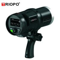 Buy cheap TRIOPO F1-600 Bowen mount 2.4G TTL wireless outdoor studio flash strobe light with black color product