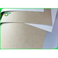 Buy cheap FSC Certificated 250 300 350GSM White Horse Duplex Board Gray Back from wholesalers