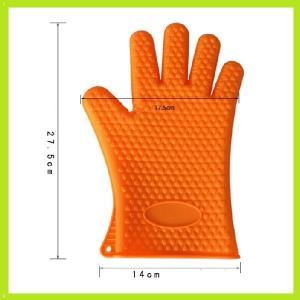 Buy cheap gants flexibles résistants à la chaleur de four de silicone de gant de doigt de silicone product