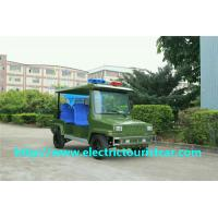 Buy cheap Durable Electric Patrol Car 5 Seater Electric Car With Light On Roof 48V/4KW from wholesalers