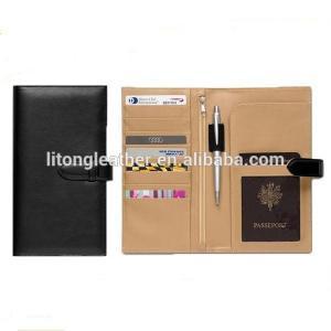 Buy cheap couverture en cuir faite sur commande promotionnelle de passeport de voyage product