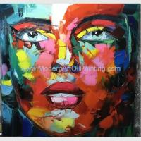 Buy cheap Custom Oil Portrait Painting from photo People Face Painting by Palette Knife product
