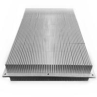 Quality Custom aluminum bonded fin heat sink glued with base for sale