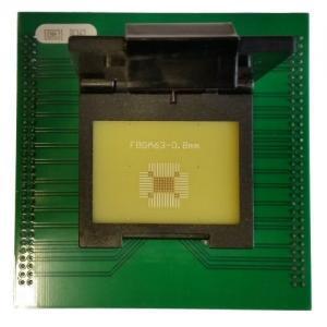 Buy cheap Программируя переходник ФБГА63 для переходника гнезда УП818 УП828 ФБГА63 product
