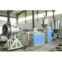 Buy cheap hdpe pe heat insulation pipe machine extrusion line production for sale made in China from wholesalers