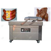 Buy cheap Commercial Double Chamber Vacuum Packing Machine 304 Stainless Steel For Sausage Grain from wholesalers