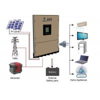 China 10KW Solar Power Inverters Off Grid For Remote Lighting Traffic Lights on sale