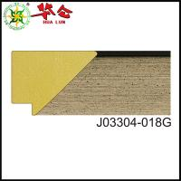 Buy cheap J03304 series Guangdong Custom size wood mirror carved frame moulding product