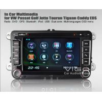 Buy cheap VW Volkswagen Caddy Scirocco Rabbit Passat B6 In Car Entertainment Bluetooth DVD VVW8806 product