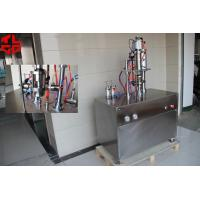 Buy cheap Pneumatic Semi Automatic Aerosol Filling Machine For F12 F22 Gas , High Speed product