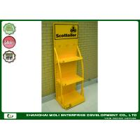 Buy cheap POP retail rack China factory metal displays racks Motor oil & lubricant display stands product