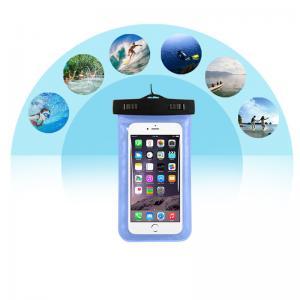 El OEM modificó el caso impermeable de la cubierta para requisitos particulares de la bolsa del bolso del teléfono del PVC para Iphone 5se para Samsung