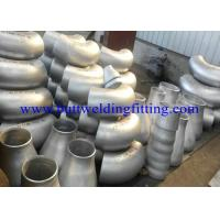 Buy cheap Super Duplex Steel ASTM A815 UNS S32750 / UNS S32760 But Weld Fittings UNS S31803 / 32550 ASME B16.9 product
