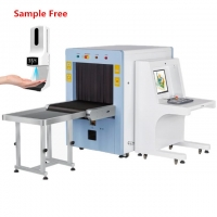 Buy cheap 650*500MM Luggage Checking X Ray Scanner Machine Security Inspection X-Ray Baggage Scanner product