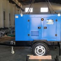China High Efficiency Mobile Diesel Generator Smooth Running Low Vibration And Noise on sale