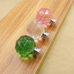 Buy cheap Crystal Door Knobs Drawer Spherical Pulls Furniture Handles Hardware product
