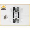 Exterior Concealed Adjustable Hidden Heavy Duty Door Hinges 16.5mm Gap for sale