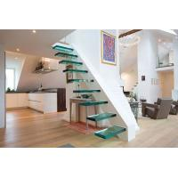 Buy cheap floor Stair thermoformed Glass / Glass steps product