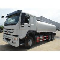 China Sinotruk HOWO 6x4 10 wheeler Water Tanker Truck 20T 20 tons Water Sprinkler Tank Truck on sale