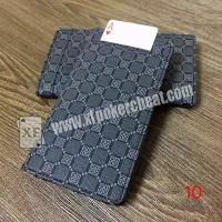 Buy cheap Leather Poker Cheat Device Electronic Wallet Card Exchanger For Magic Trick product