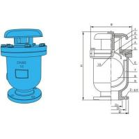 """Buy cheap QT450 RF Exhaust Valve , Portable Air Release Valve 4 """" x  PN10 For gas product"""