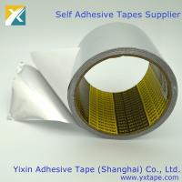 Buy cheap high heat foil tape high temp metal tape  silver tape for ducts  aluminum hvac tape   aluminium foil insulation tape product