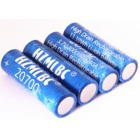 Buy cheap Flat Top 20700 / 18650 Li Ion Battery 3000mah 40A 3.7v OEM & ODM Available product
