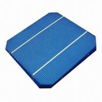 Buy cheap 2012 High-efficiency Photovoltaic Monocrystalline Solar Cell, Measures 156 x 156mm product
