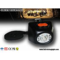 Buy cheap All-in-one wireless anti explosive rechargeable LED headlamp with 4500lux strong brightness product