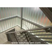 Quality Low Iron Tempered U Shaped Glass 262(W)X60(H)X7(T) Mm Dimension Building Material for sale
